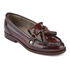 Hudson London Women's Britta Hi Shine Tassle Loafers - Bordo: Image 2