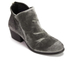 H Shoes by Hudson Women's Apisi Velvet Heeled Ankle Boots - Grey: Image 2