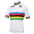 Santini UCI World Road Champion Short Sleeve Jersey - White: Image 1