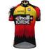 Santini Cinelli Chrome 16 Short Sleeve Jersey - Black/Orange: Image 2