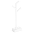 Wireworks Gloss White Towel Rail Branch: Image 2