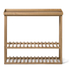 Wireworks Hello Storage Console Table - Oak: Image 1