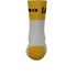 Santini Lotto Jumbo 16 Coolmax Socks - Black/Yellow: Image 2