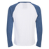 Brave Soul Men's Osbourne Raglan Long Sleeve Top - Optic White: Image 2