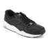 Puma Men's R698 Core Leather Trainers - Black/Black/Drizzle: Image 2