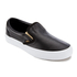 Vans Women's Classic Slip-On Metallic Trainers - Black/Gold: Image 2