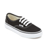 Vans Kids' Authentic Trainers - Black/True White: Image 2