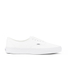 Vans Men's Authentic Decon Premium Leather Trainers - True White: Image 1