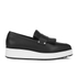 McQ Alexander McQueen Women's Manor Pleated Slip-On Trainers - Black: Image 1