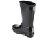 Hunter Kids' Original Gloss Wellies - Black: Image 4