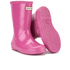 Hunter Toddlers' First Gloss Wellies - Fuchsia: Image 5