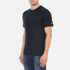Carhartt Men's Short Sleeve Base T-Shirt - Navy/White: Image 2