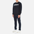 Carhartt Men's College Sweatshirt - Navy/White: Image 4