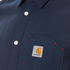 Carhartt Men's Long Sleeve Tony Shirt - Navy Rigid: Image 5