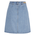 ONLY Women's Farrah A-Line Denim Skirt- Light Blue Denim: Image 2