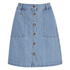 ONLY Women's Farrah A-Line Denim Skirt- Light Blue Denim: Image 1