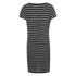 ONLY Women's Lidia Short Sleeve T-Shirt Dress - Black: Image 2