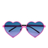 Wildfox Women's Lolita Sunglasses - Pink/Purple: Image 1