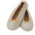 Holistic Silk Massaging Slippers - Jade - S: Image 1