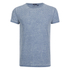 Brave Soul Men's Gonzalo Burnout T-Shirt - Ink Blue: Image 1