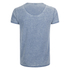 Brave Soul Men's Gonzalo Burnout T-Shirt - Ink Blue: Image 2