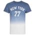 Threadbare Men's Dunbar Print Dip Dye T-Shirt - Blue: Image 1