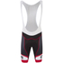 Alé Formula 1.0 Logo Bib Shorts - Black/Red: Image 1