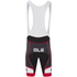 Alé Formula 1.0 Logo Bib Shorts - Black/Red: Image 2