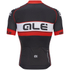 Alé PRR Bermuda Short Sleeve Jersey - Black/Red: Image 2