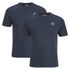 Kappa Men's Nico 2 Pack T-Shirts - Navy: Image 1