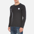 Converse Men's All Star Core Left Chest CP Long Sleeve T-Shirt - Black Heather: Image 2