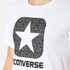 Converse Men's All Star Shield Reflective Rain Box Star T-Shirt - White: Image 5
