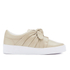 Senso Women's Annie Front Bow Leather Slip On Trainers - Sand: Image 1