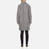 Carven Women's Oversized Two Buttoned Coat - White/Black: Image 3