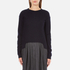 Carven Women's Jumper Shirt Dress - Navy: Image 1