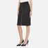 Carven Women's Full Zip Pencil Skirt - Black: Image 2