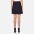 Carven Women's Duffle Button Skirt - Navy: Image 3