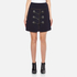 Carven Women's Duffle Button Skirt - Navy: Image 1