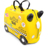 Trunki Tony Taxi Ride-On Suitcase - Yellow: Image 1