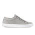 ETQ. Men's Low Top 1 Leather Trainers - Alloy: Image 1