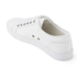 ETQ. Men's Low Top 1 Leather Trainers - White: Image 4