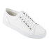 ETQ. Men's Low Top 1 Leather Trainers - White: Image 2