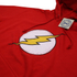 DC Comics Mens Flash Distress Hoody - Red: Image 2