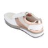 MICHAEL MICHAEL KORS Women's Allie Leather Trainers - White & Rose Gold: Image 4