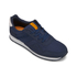 Jack & Jones Men's Fayette Mesh Trainers - Navy Blazer: Image 2