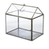 Nkuku Miro Greenhouse - Antique Zinc - Small: Image 1