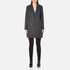 A.P.C. Women's Single Breasted Coat - Grey: Image 1