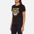 KENZO Women's Tiger Embroidered T-Shirt - Black: Image 2