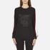 KENZO Women's Contrast Side Stripe Tiger Sweatshirt - Black: Image 1