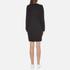 KENZO Women's Eye Sleeve Logo Sweatshirt Dress - Black: Image 3